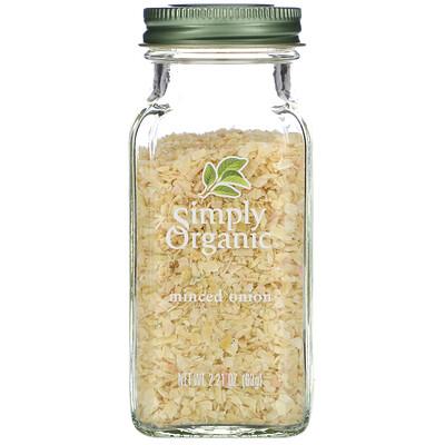 Купить Simply Organic Измельченный лук, 2.21 унций (63 г)
