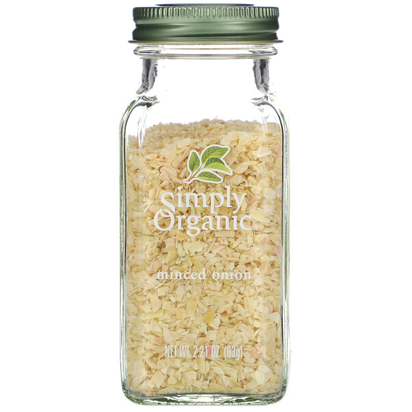 Simply Organic, Minced Onion, 2.21 oz (63 g)