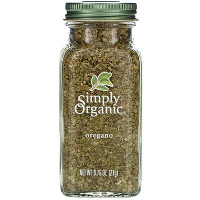 Купить Simply Organic Орегано, 21 г (0, 75 унции)