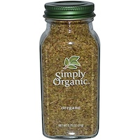 Simply Organic, 오레가노, 0.75 oz (21 g)