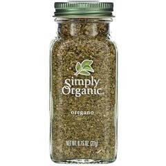 Simply Organic, 牛至,0.75盎司(21克)