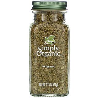 Simply Organic, توابل أوريجانو، 0.75 أوقية (21 غ)