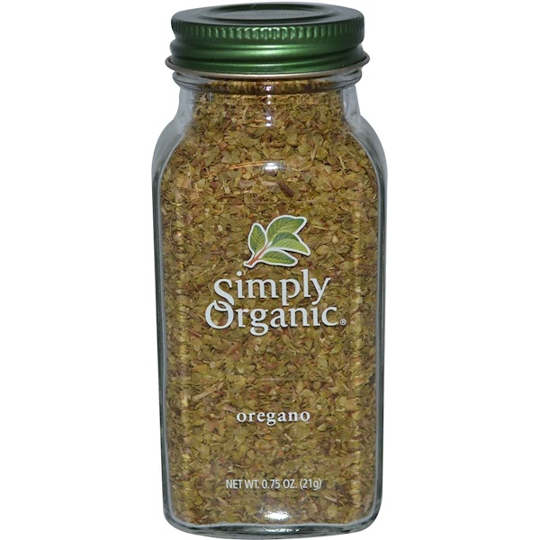 Simply Organic, Oregano, 0.75 oz (21 g)