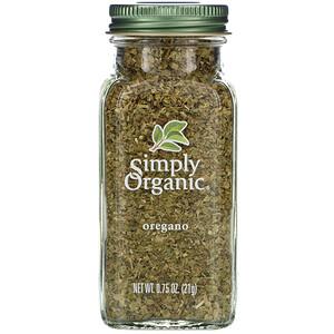 Симпли Органик, Oregano, 0.75 oz (21 g) отзывы