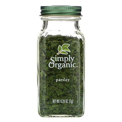 Купить Simply Organic Петрушка, 7 г (0, 26 унции)