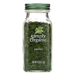 Simply Organic, Parsley, 0.26 oz (7 g)