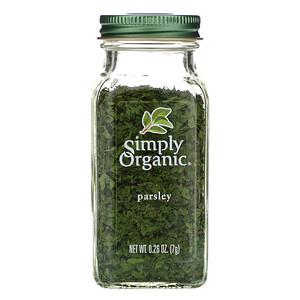 Симпли Органик, Parsley, 0.26 oz (7 g) отзывы покупателей
