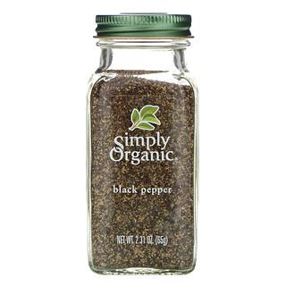Simply Organic, Black Pepper, 65 g (2,31 oz)