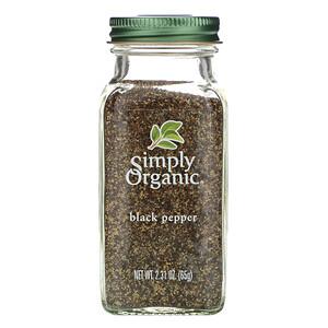 Симпли Органик, Black Pepper, 2.31 oz (65 g) отзывы покупателей
