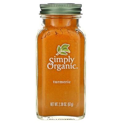 Купить Simply Organic Куркума, 2, 38 унции (67 г)