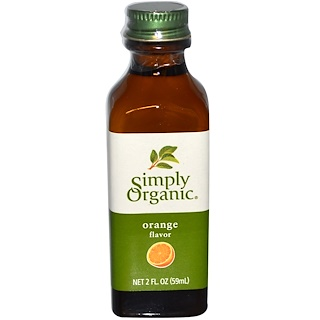 Simply Organic, Orange Flavor, 2 fl oz (59 ml)