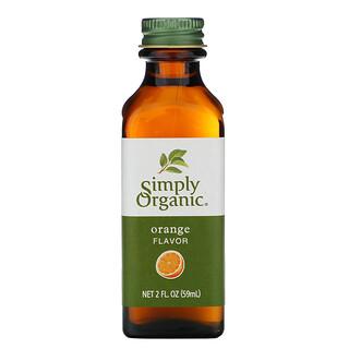 Simply Organic, Orange Flavor, 2 fl oz (59 ml)