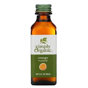 Симпли Органик, Orange Flavor, 2 fl oz (59 ml) отзывы