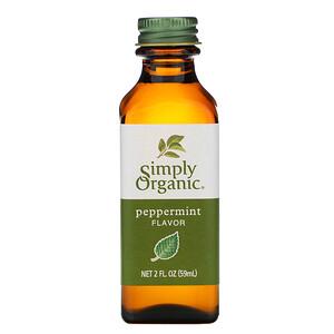 Симпли Органик, Peppermint Flavor, 2 fl oz (59 ml) отзывы