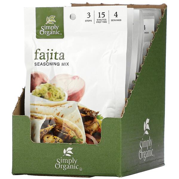Fajita Seasoning Mix, 12 Packets, 1 oz (28 g) Each