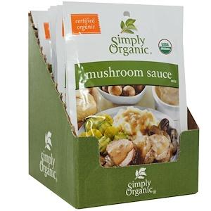 Симпли Органик, Mushroom Sauce Mix, 12 Packets, 0.85 oz (24 g) Each отзывы