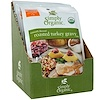 Simply Organic, Roasted Turkey Gravy Mix, 12 Packets, 0.85 oz (24 g) Each (Discontinued Item)