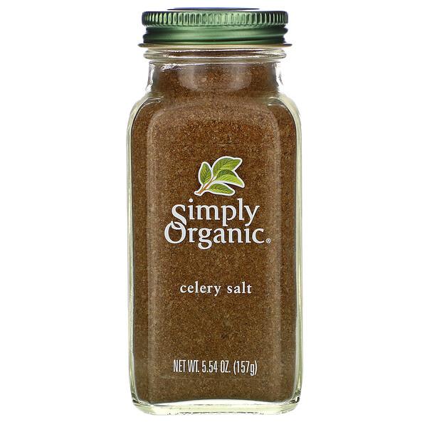 Simply Organic, Sal de aipo, 5.54 oz (157 g)