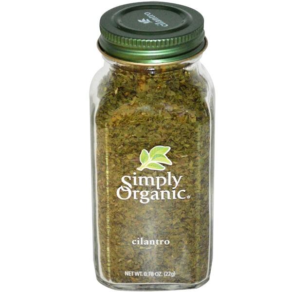 Simply Organic, シラントロ(コリアンダー)、0.78 oz (22 g)