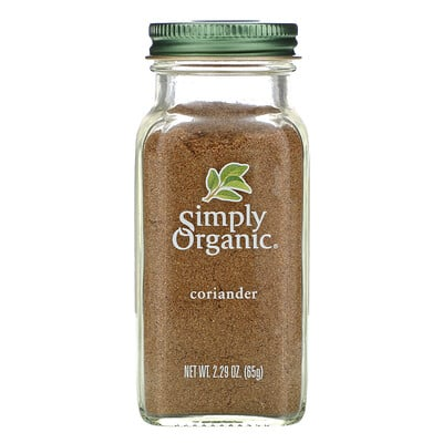 Купить Simply Organic Кориандр, 2, 29 унции (65 г)