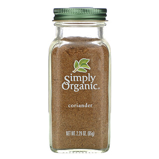 Simply Organic, Coriander, 2.29 oz (65 g)