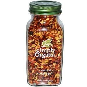 Симпли Органик, Crushed Red Pepper, 1.59 oz (45 g) отзывы покупателей