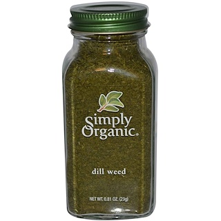 Simply Organic, Dill Weed, 0.81 oz (23 g)