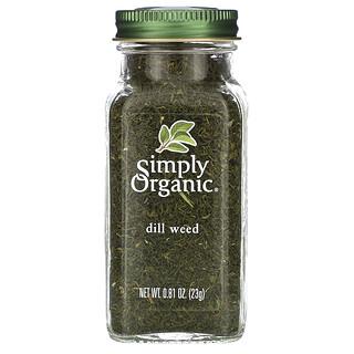 Simply Organic, 有机莳萝碎片, 0.81 oz (23 g)