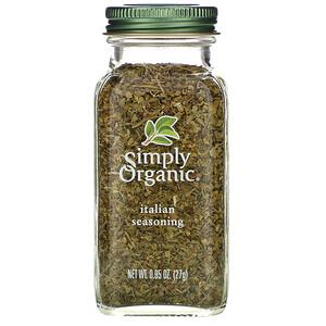 Симпли Органик, Italian Seasoning, 0.95 oz (27 g) отзывы покупателей
