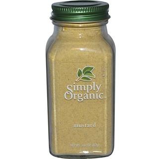 Simply Organic, Mustard, 3.07 oz (87 g)