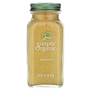 Симпли Органик, Mustard, 3.07 oz (87 g) отзывы покупателей