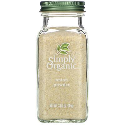 Simply Organic Луковый порошок, 3 унции (85 г)