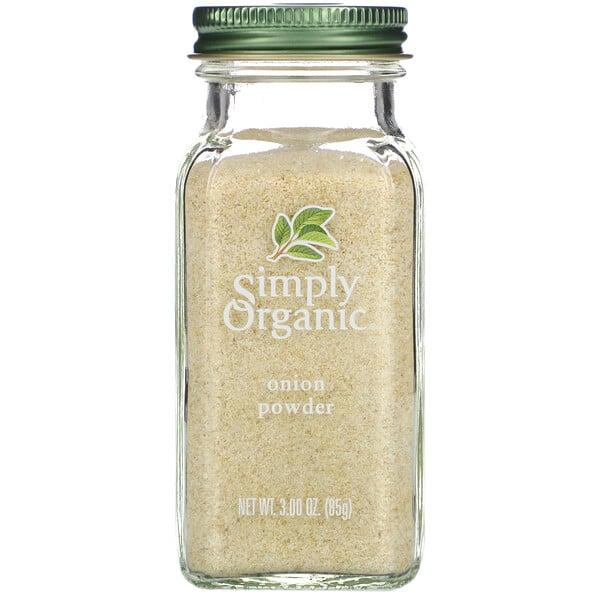 Simply Organic, אבקת קארי, 85 גר' (3.0 oz)