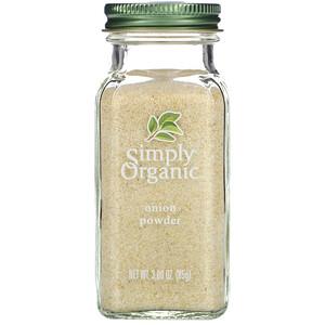 Симпли Органик, Onion Powder, 3.0 oz (85 g) отзывы покупателей