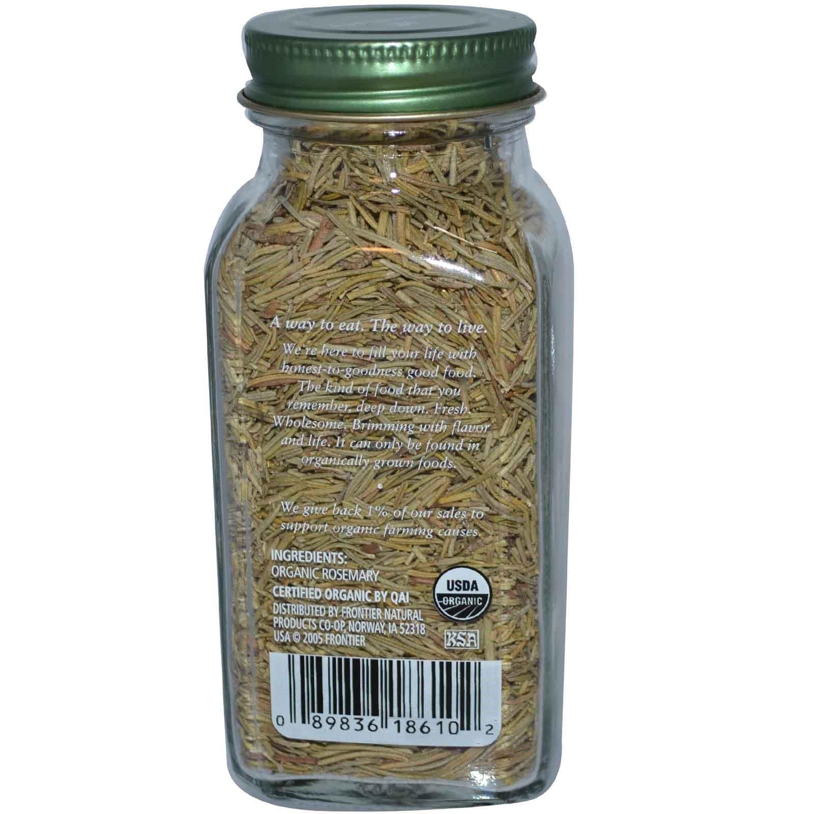 Simply Organic, Розмарин, 1.23 унция (35 г)