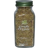 Simply Organic, 로즈마리, 1.23 oz (35 g)