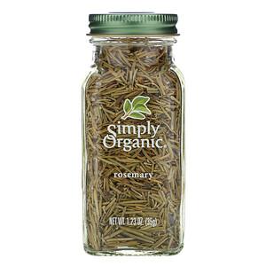 Симпли Органик, Rosemary, 1.23 oz (35 g) отзывы покупателей
