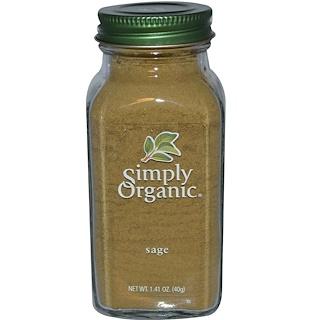 Simply Organic, Sage, 1.41 oz (40 g)