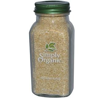 Simply Organic, Semillas de Sésamo, 3.7 oz (105 g)