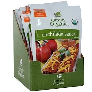 Симпли Органик, Enchilada Sauce Seasoning, 12 Packets, 1.41 oz (40 g) Each отзывы