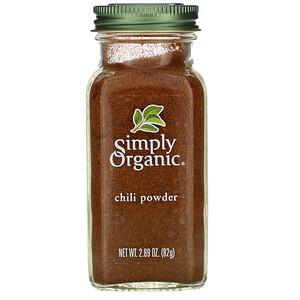 Симпли Органик, Chili Powder, 2.89 oz (82 g) отзывы