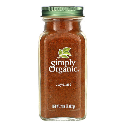 Купить Simply Organic кайенский перец, 82г (2, 89унции)