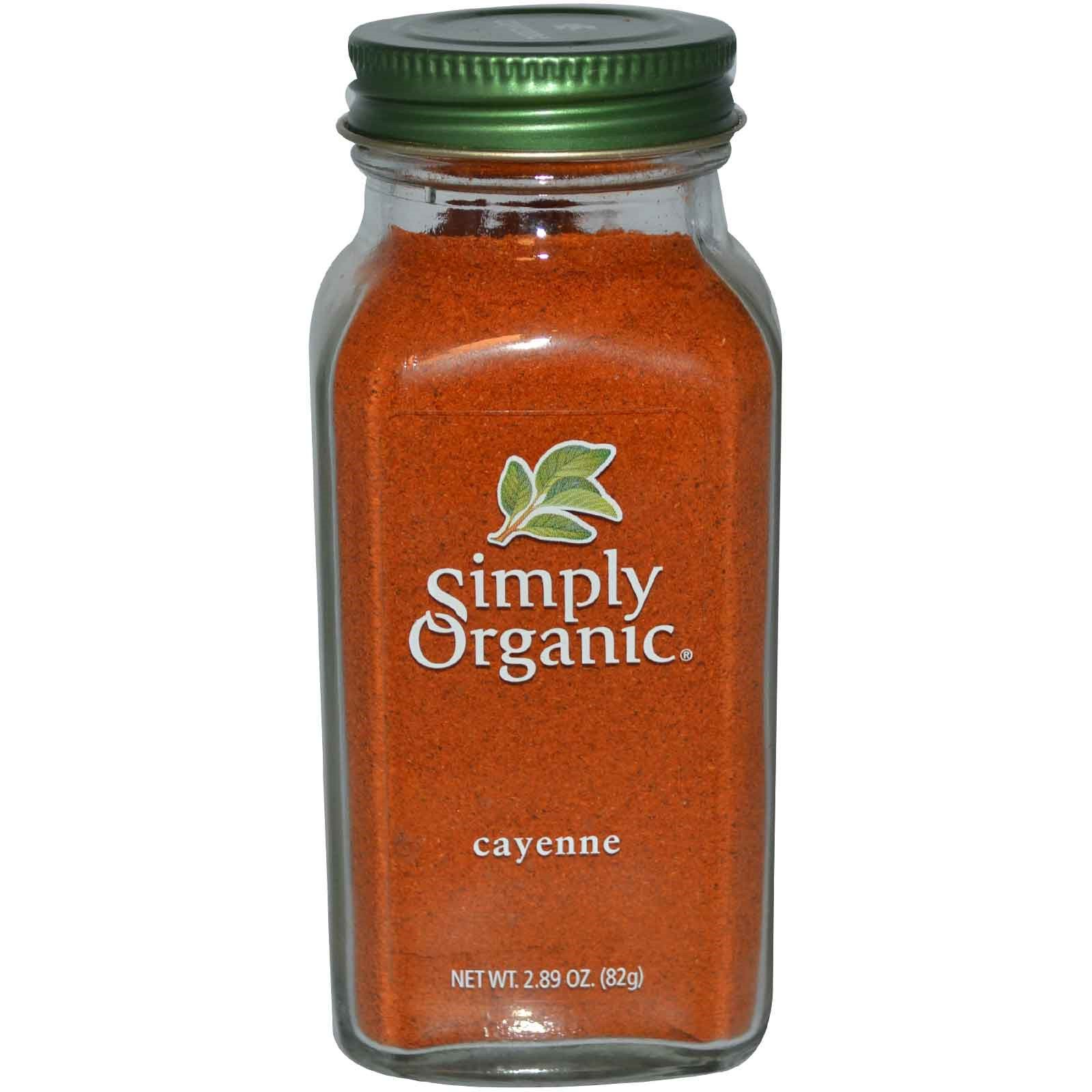 Simply Organic, Кайенский перец 82 г