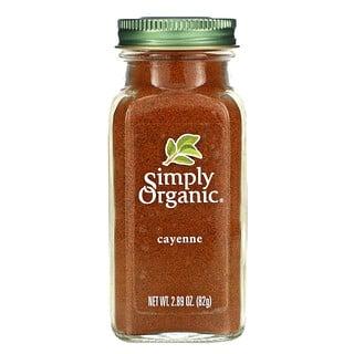 Simply Organic, Cayenne, 2.89 oz (82 g)