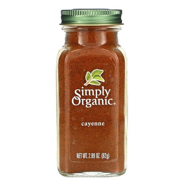 Simply Organic, カイエン、82g(2.89オンス)