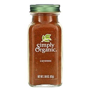 Симпли Органик, Cayenne, 2.89 oz (82 g) отзывы покупателей
