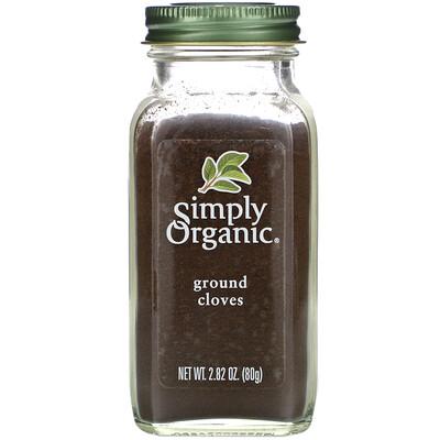 Simply Organic Молотая гвоздика, 2,82 унций (80 г)