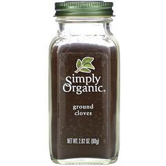 Simply Organic, 研磨丁香粉,2.82盎司(80克)