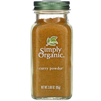 Купить Simply Organic Порошок карри, 3 унции (85 г)