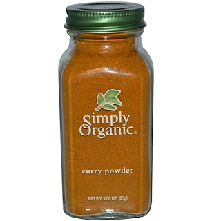 Simply Organic, Curry Powder, 3.00 oz (85 g)